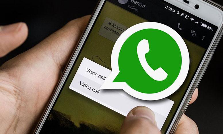 whatsapp phone call